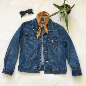 jean jacket {GAP}